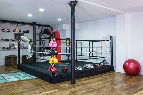 Ring de boxe Paris