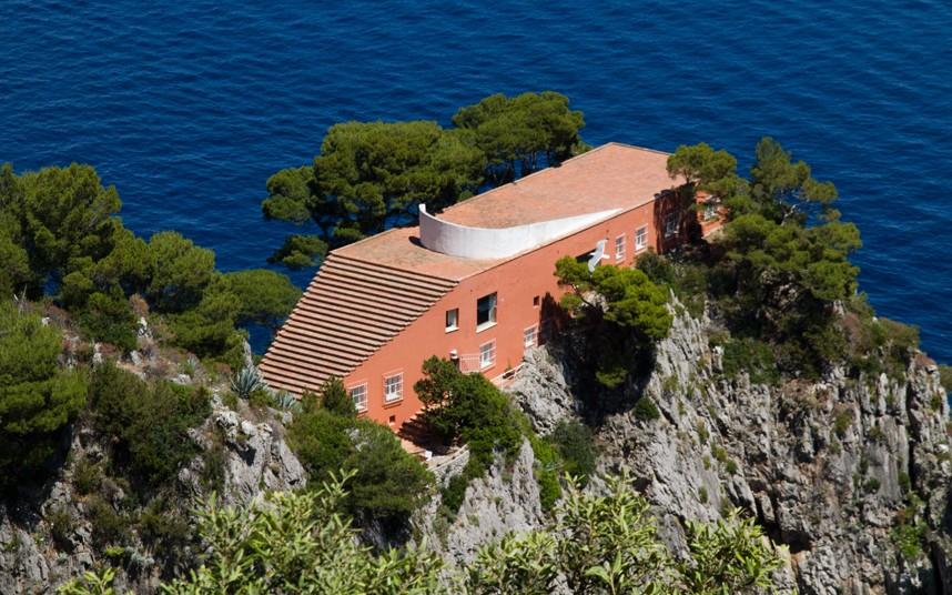 Maison bonus la casa malaparte architectes paris for Villa curzio malaparte