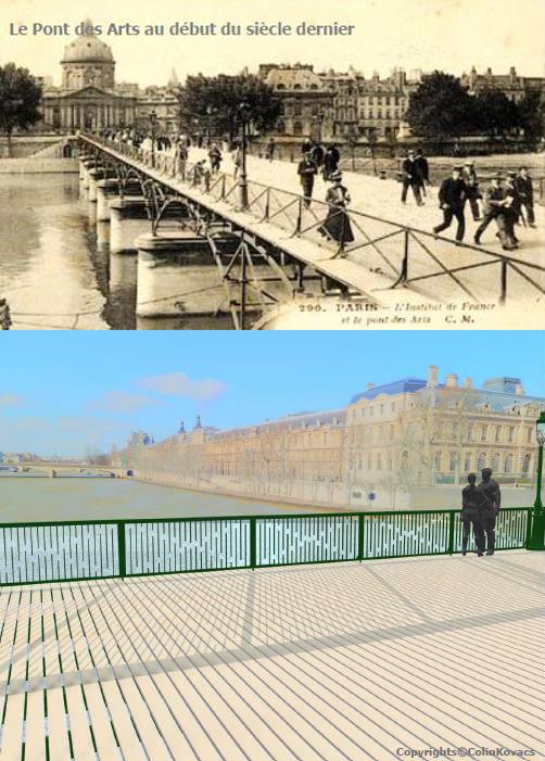 Pont des Arts Colin Kavacs