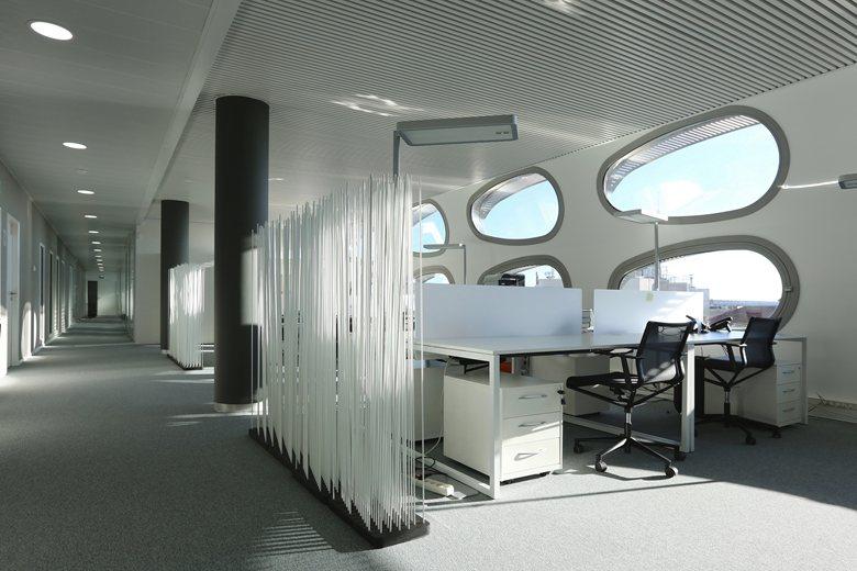 bureaux à l'honneur : Ile de corse vue des bureaux