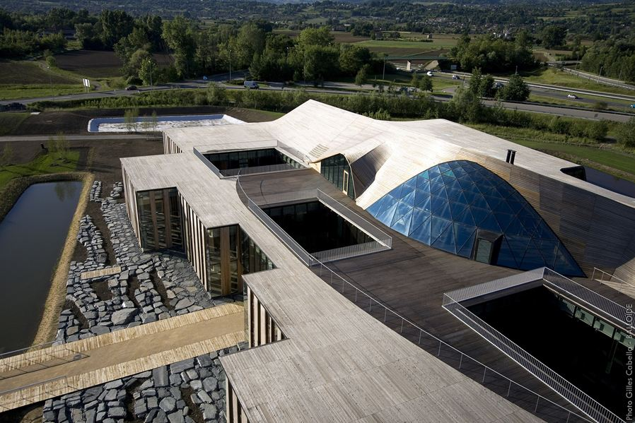 bureaux à l'honneur : siège mondial Rossignol vue de l'extérieur