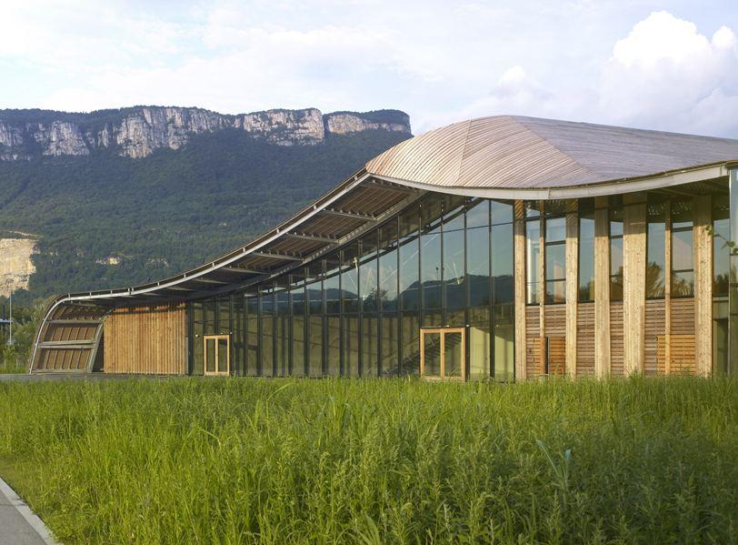bureaux à l'honneur : siège mondial Rossignol vue de la façade