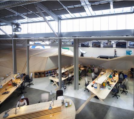 bureaux à l'honneur : surfrider foundation vue d'ensemble des bureaux