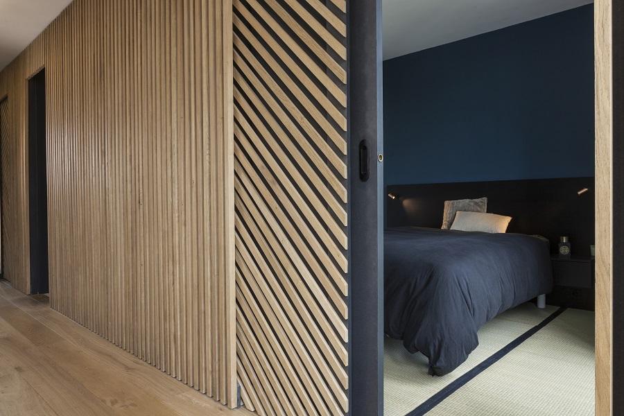 rénovation appartement : vue sur la chambre