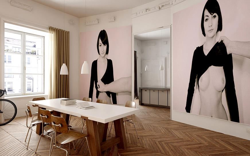Les 10 plus belles r novations d 39 appartement de paris for Photo salon dappartement