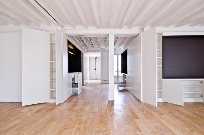rénovation appartement : Faubourg du Temple vue d'ensemble