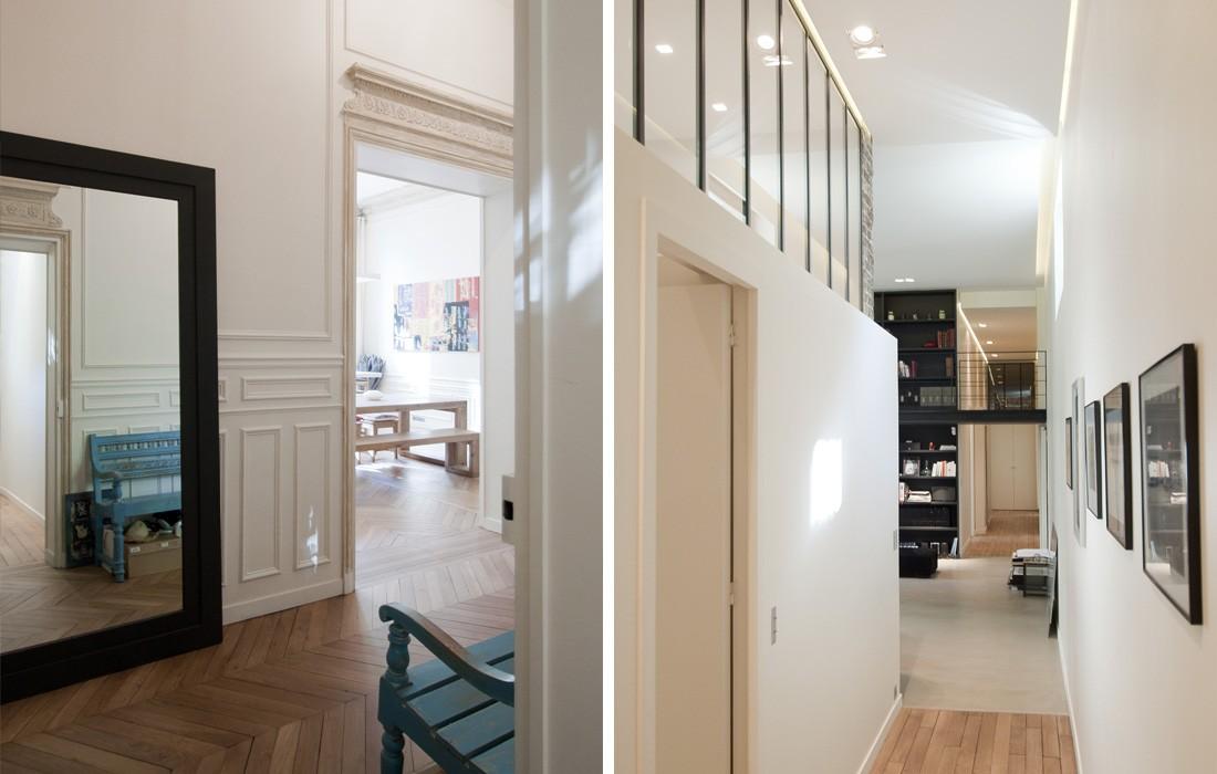 rénovation appartement : luxembourg vue d'ensemble