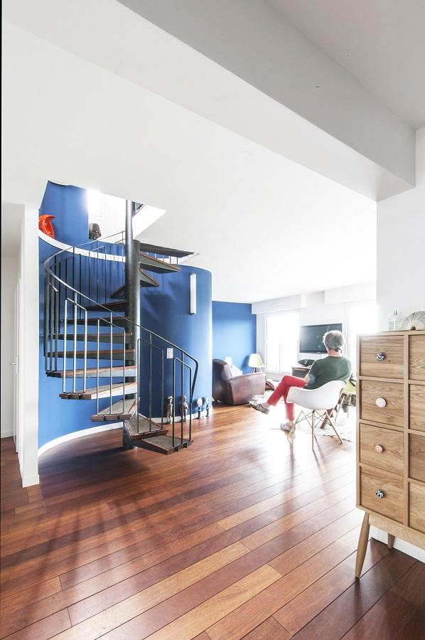 rénovation appartement : salle à manger du duplex