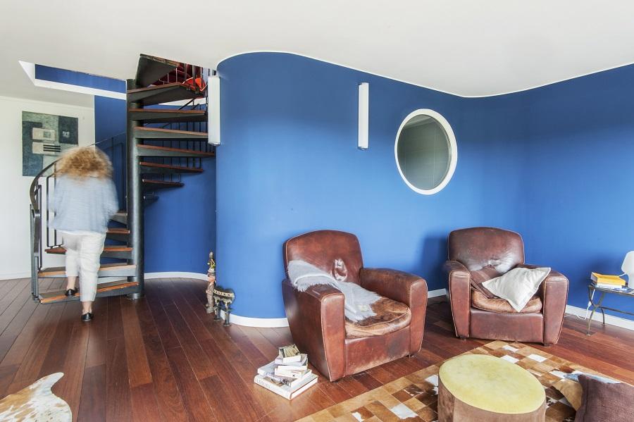 rénovation appartement : salon du dublex