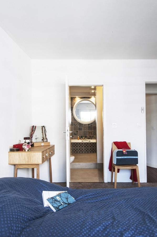 rénovation appartement : chambre du duplex