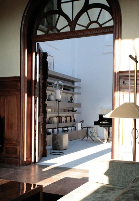 rénovation appartement : vue de l'entrée