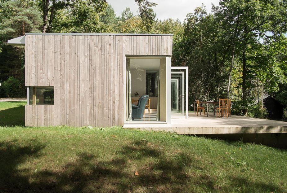 plus belles maisons : Maison JJ&SM détail du côté