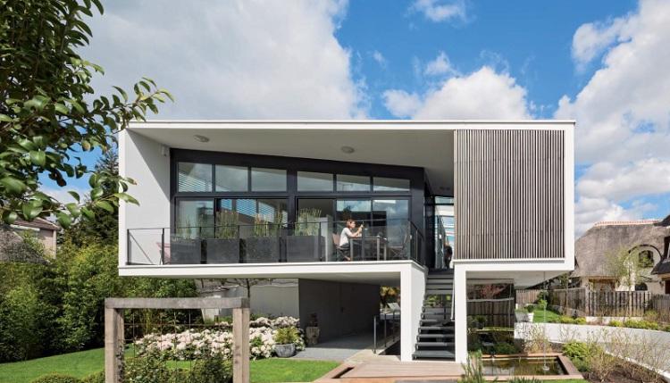 les 10 plus belles maisons de 2015 en france architectes paris. Black Bedroom Furniture Sets. Home Design Ideas