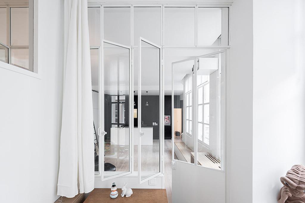 plus beaux lofts : Septembre architecture, Kabinett détail sur la fenêtre