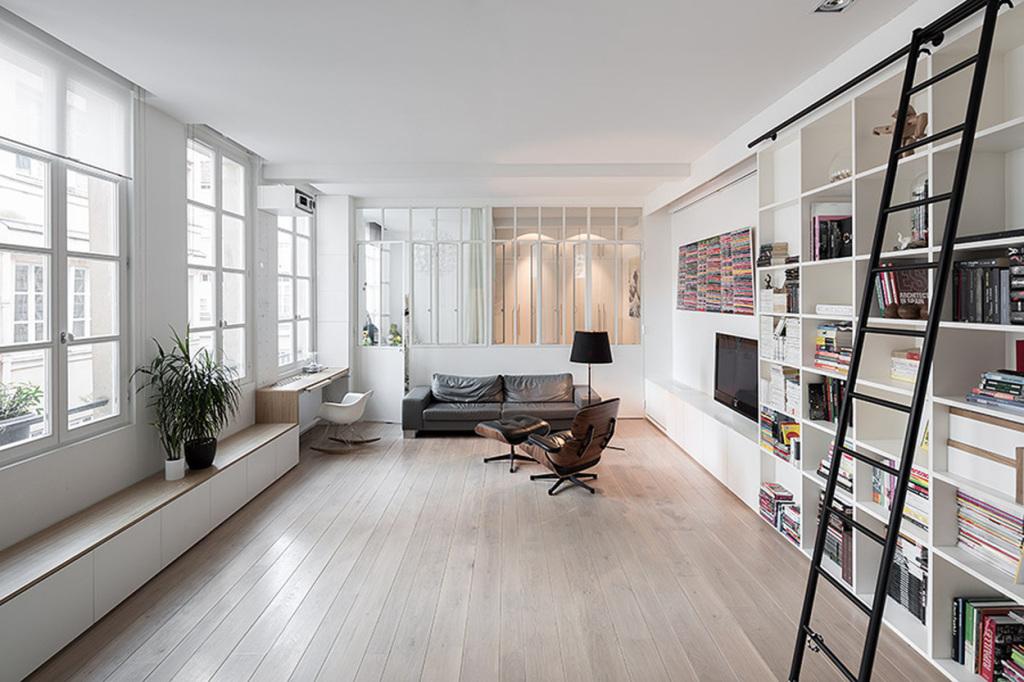 plus beaux lofts : Septembre architecture, Kabinett vue d'ensemble