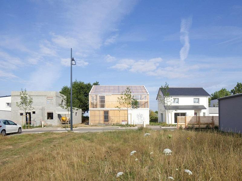 plus belles maisons : Maison D vue de la façade