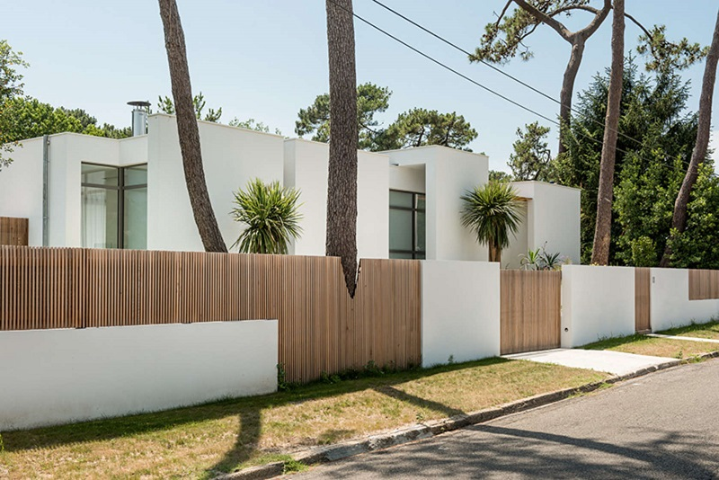 plus belles maisons : Maison VLV vue de la rue