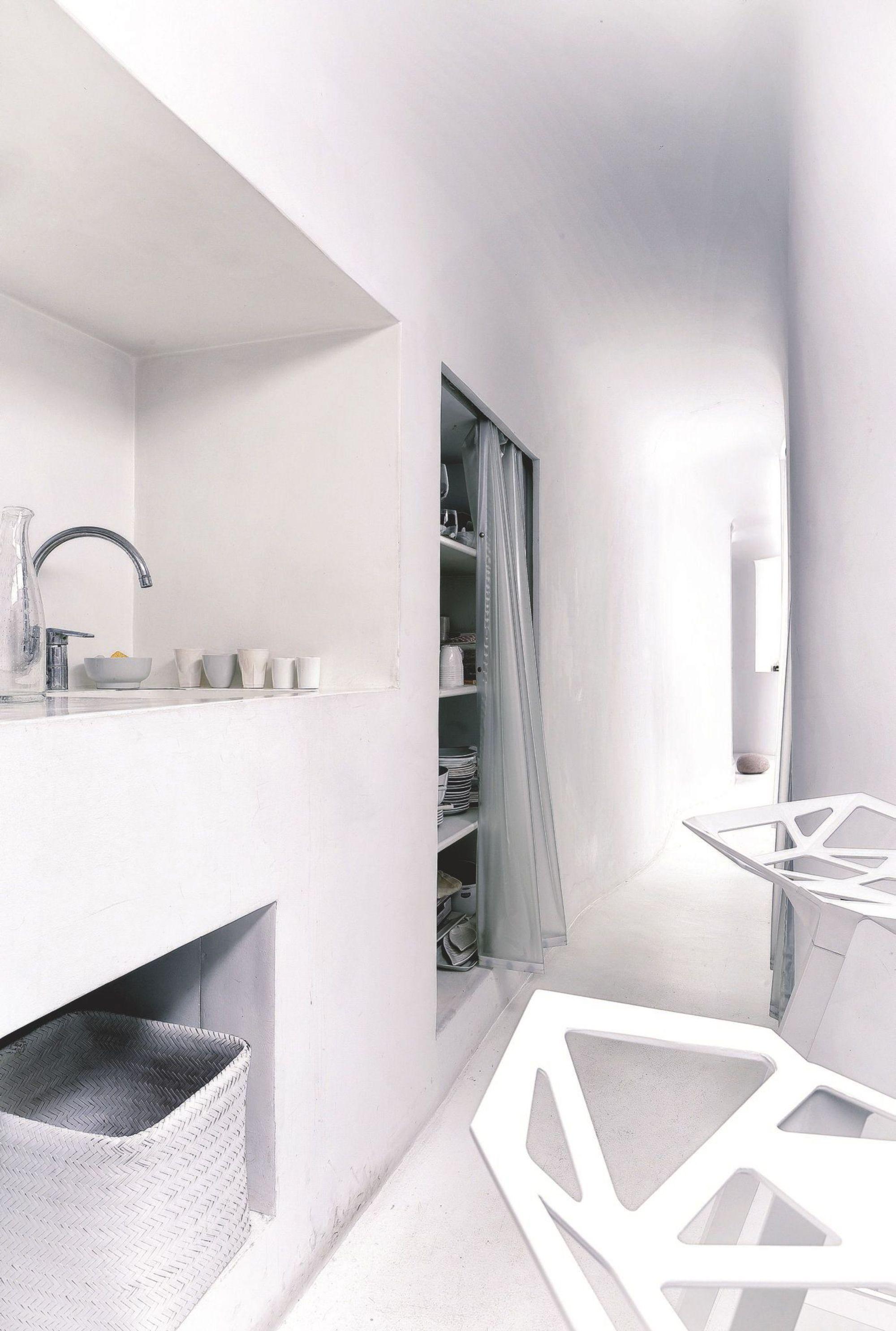 plus beaux lofts : François Roche, Le snake vue de la cuisine
