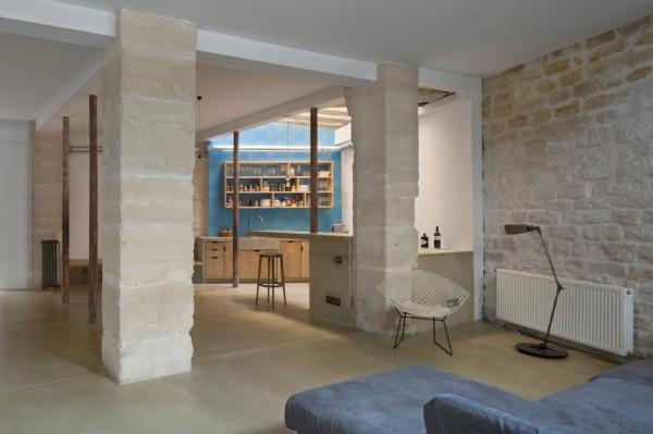 plus beaux lofts : Maxime Jansens, Loft MDP vue de la cuisine