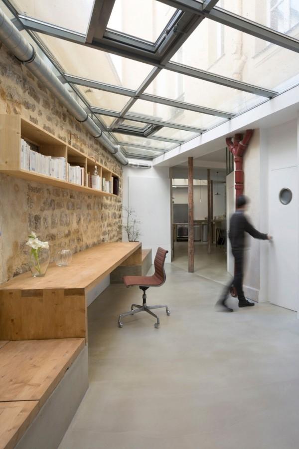 plus beaux lofts : Maxime Jansens, Loft MDP vue du salon