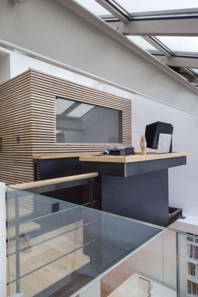 plus beaux lofts : Pablo Katz, Loft, Paris 9e vue de l'étage