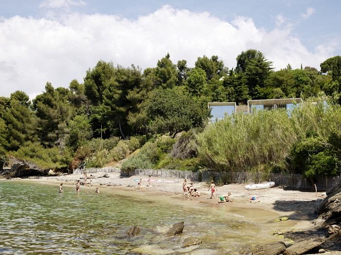 plus belles maisons : Maison Le Cap vue éloignée
