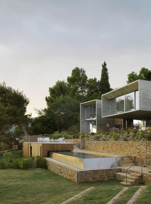 plus belles maisons : Maison Le Cap vue de la façade