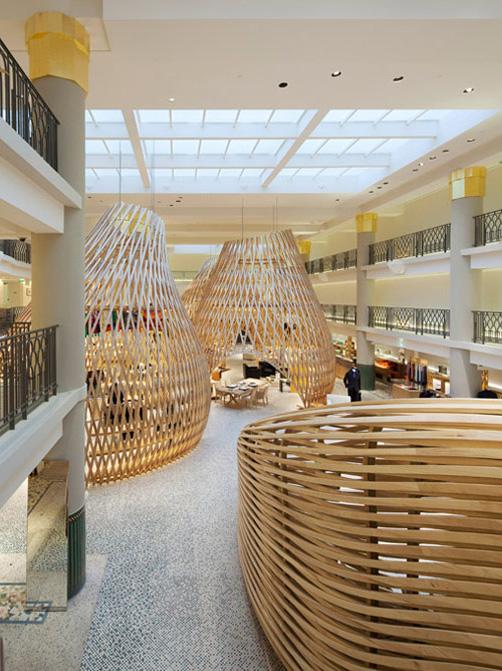 Boutique Hermès rue de Sèvres, Paris vue d'ensemble