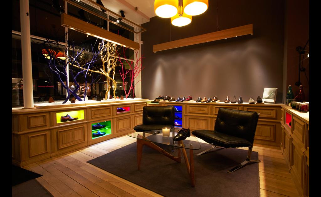 Boutique Pierre Corthay Bottier, Paris vue d'ensemble
