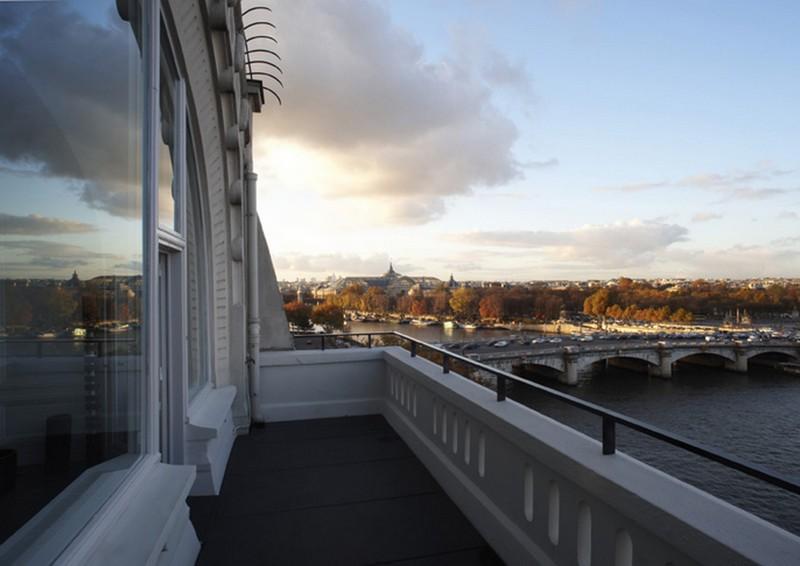 penthouse de dirand vue de la terrasse