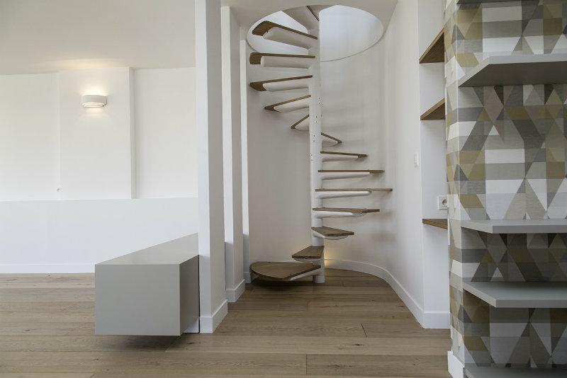 penthouse de iphigenie vue de l'escalier