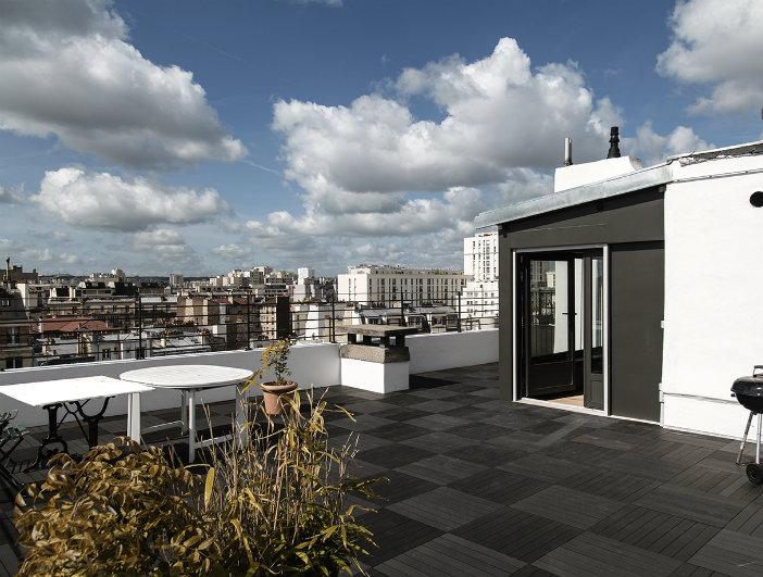 penthouse de iphigenie vue de la terrasse