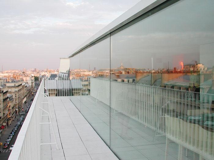penthouse de Hardel lebihan vue de la terrasse