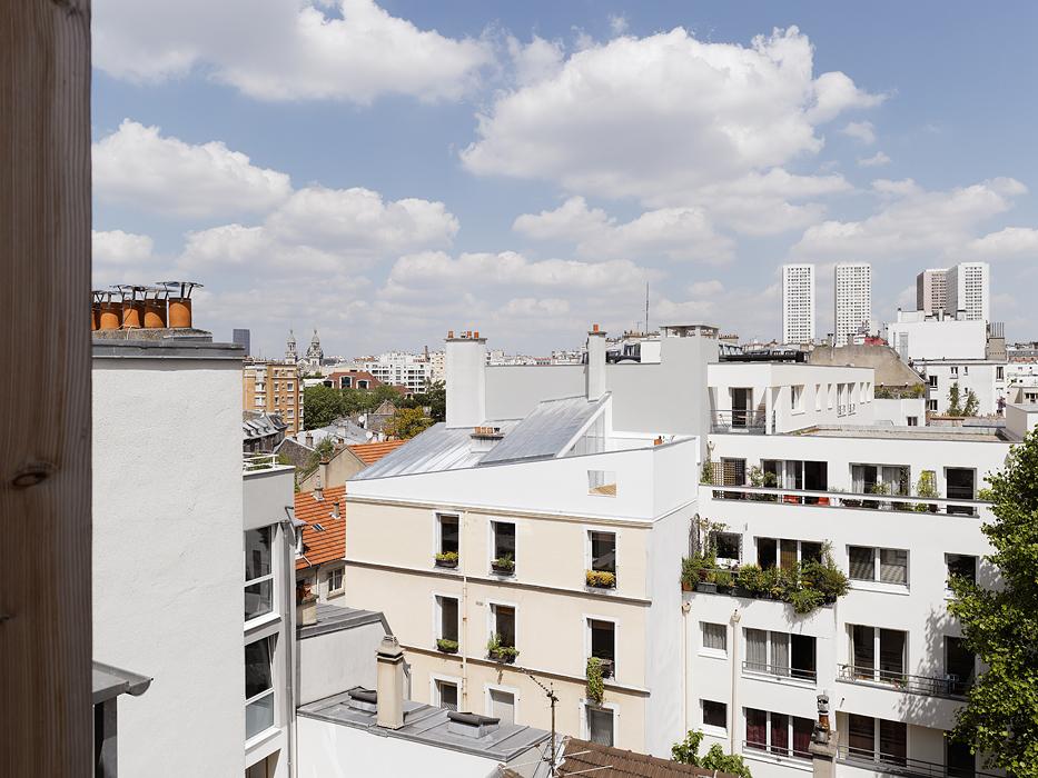 Penthouse Paris XIII de Tanya Klyne Architecte vue d'ensemble