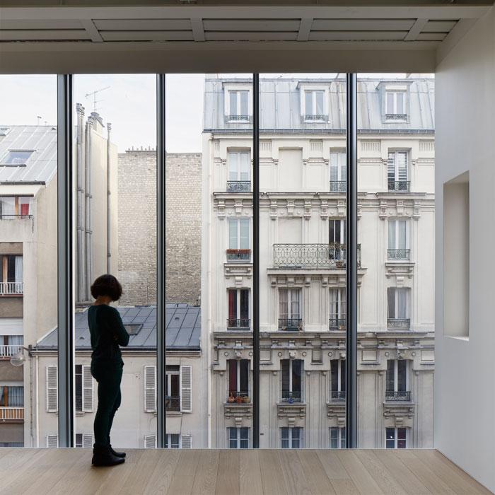 Plus belles maisons de paris : projet de Hardel + LeBihan Architectes vue sur l'exterieur