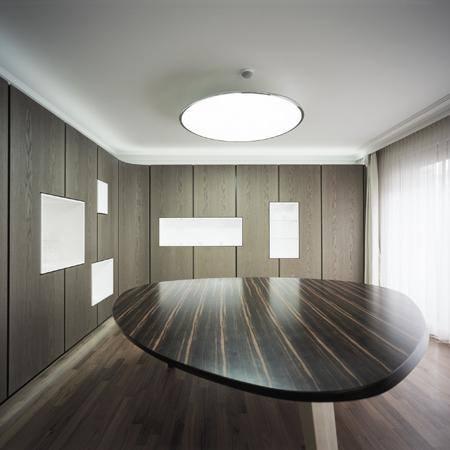 Hôtels particuliers de Paris : réalisé par Karawitz, vue de la salle à manger