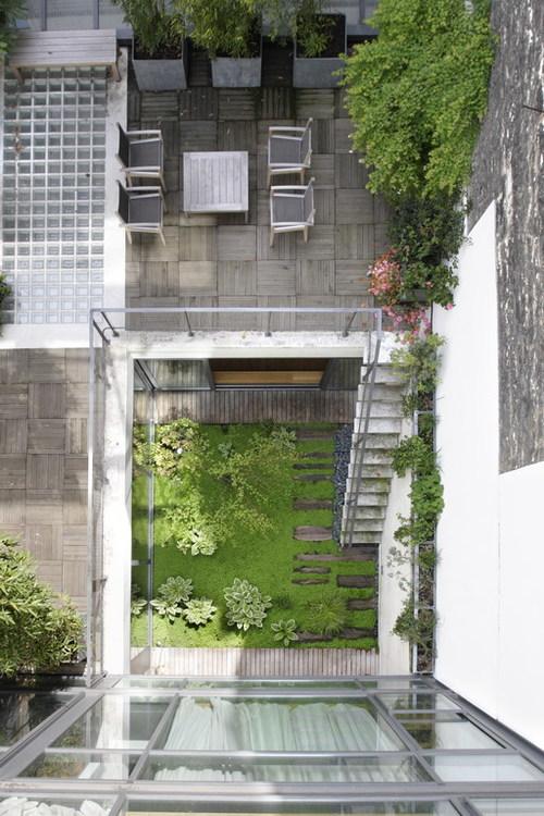 Hôtels particuliers de Paris : réalisé par MKA architecture, vue de l'extérieur