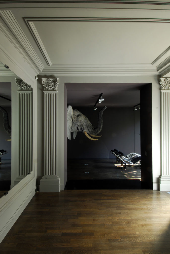 Hôtels particuliers de Paris : réalisé par Wilmotte, vue de l'intérieur