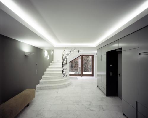 Hôtels particuliers de Paris : réalisé par Karawitz, vue de l'escalier