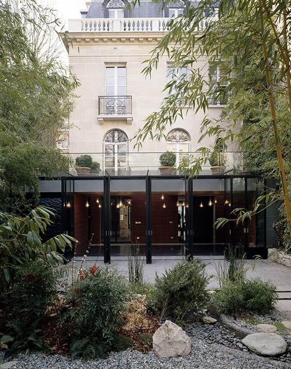 Hôtels particuliers de Paris : réalisé par atelier dupont, vue de l'extérieur