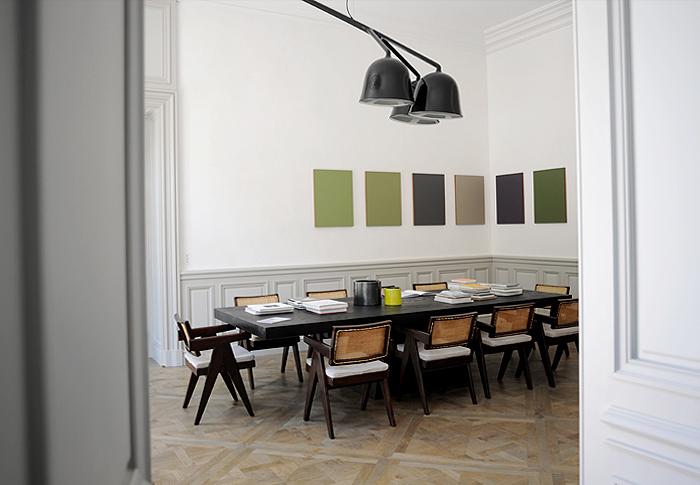 Hôtels particuliers de Paris : réalisé par Joseph Dirand, vue du salon
