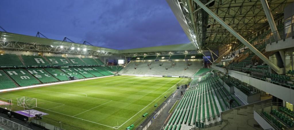 stades de l'euro 2016 : Saint-Etienne