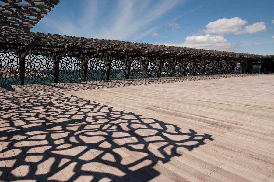 S lection des plus beaux rooftops de france architectes paris - Mucem marseille rudy ricciotti ...