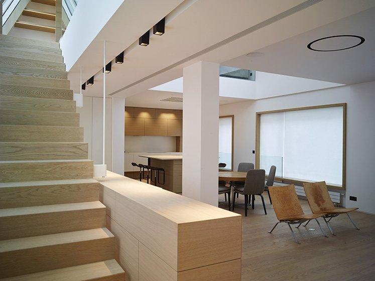 Hôtels particuliers de Paris : réalisé par PCA-STREAM, vue de la cuisine
