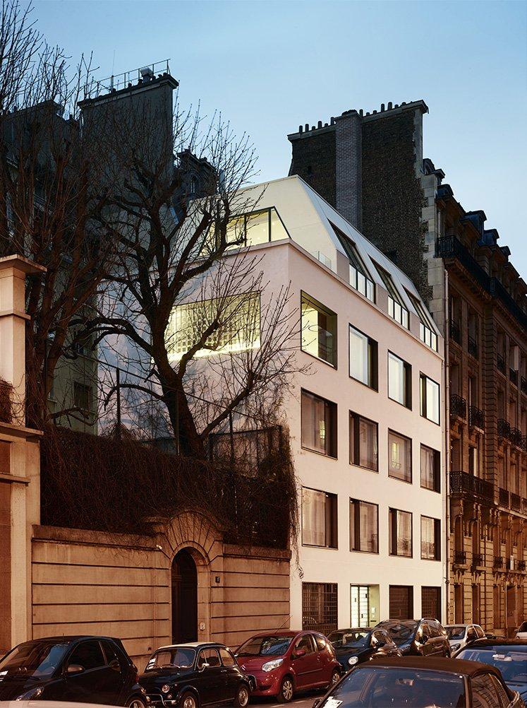 Hôtels particuliers de Paris : réalisé par PCA-STREAM, vue de la façade