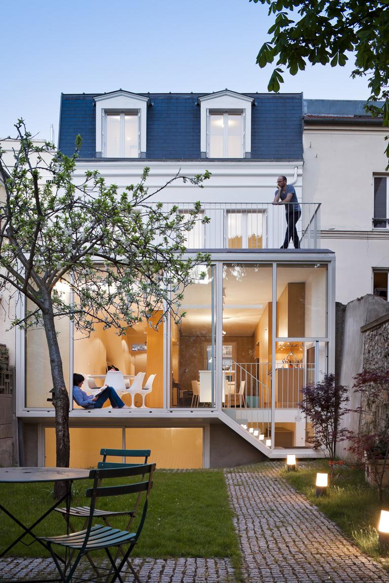 Les 10 plus belles extensions de maisons - Architectes-Paris