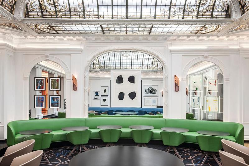 Verrière Gustave Eiffel et mobilier design