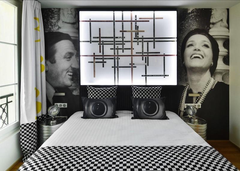 Plus beaux boutiques hotels Paris - Rénovation Architecte - Hôtel 1 2 3 - Maidenberg Architecture