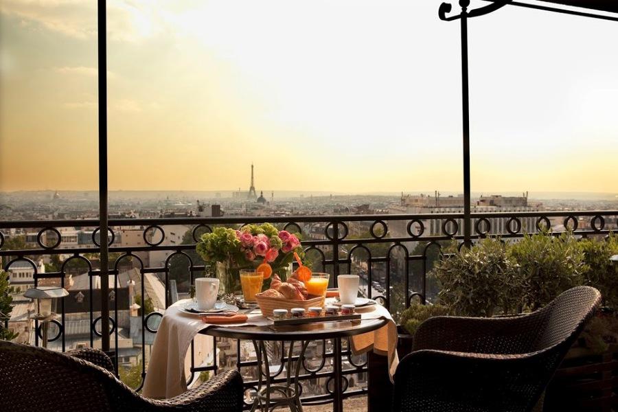 """Plus beaux boutiques hotels Paris - Rénovation Architecte - Terrass"""" Hôtel - Denis Doistau"""