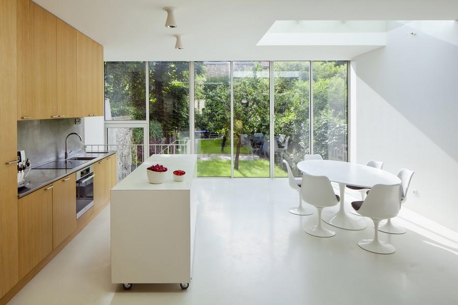 Extension d'une maison familiale - vincennes - 2013
